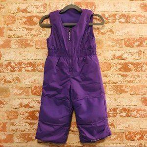 Columbia Waterproof Purple Snow Bib Overalls